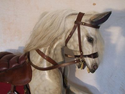 Yorkshire Rocking Horses - A Beautifully Hand Carved Old War Horse Head