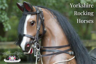Handmade Traditional Rocking Horse - WW1 Cavalry Horse