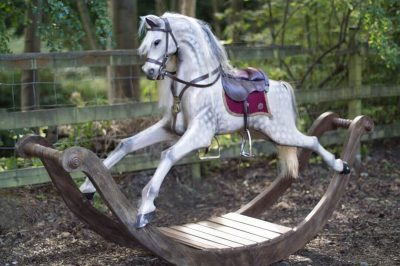 Yorkshire Rocking Horses Old War Horse on Bow Rockers