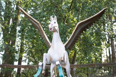 Yorkshire Rocking Horses Pegasus On Bow Rocker Flying High