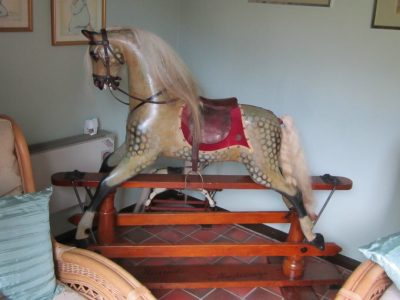 Ayres Horse After Restoration by Yorkshire Rocking Horses