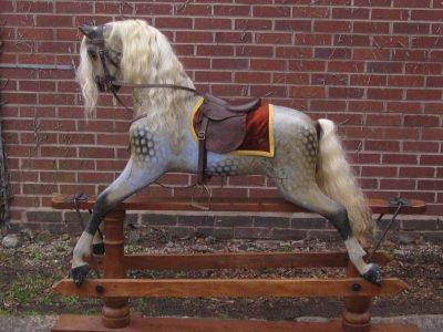 Ayres Horse Before Restoration by Yorkshire Rocking Horses
