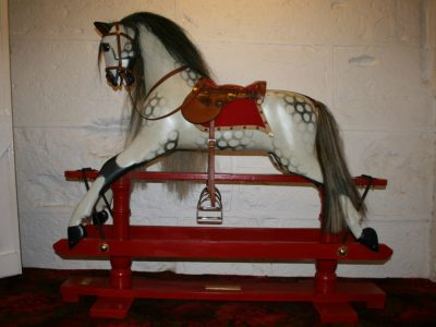 Another Ayres Rocking Horse After Restoration by Yorkshire Rocking Horses