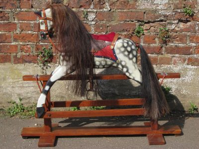 Collinson Horse After Restoration by Yorkshire Rocking Horses