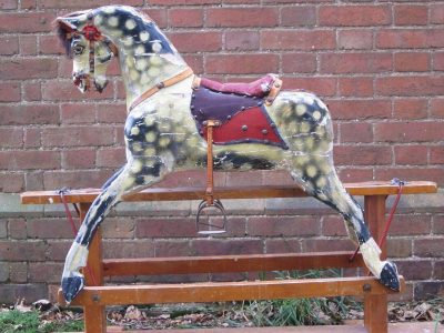 Collinson Horse Before Restoration by Yorkshire Rocking Horses