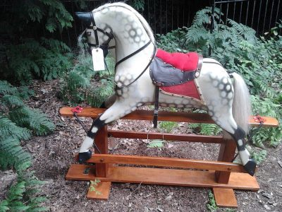 Collinson Rocking Horse After Restoration by Yorkshire Rocking Horses