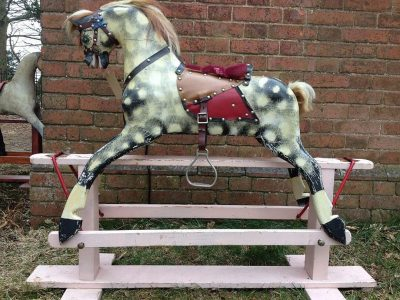 Another Collinson Horse Before Restoration by Yorkshire Rocking Horses
