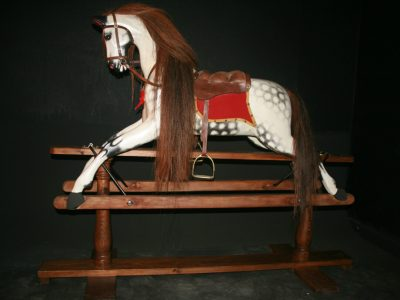 Lines Horse After Restoration by Yorkshire Rocking Horses