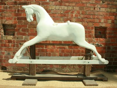 Lines Horse Before Restoration by Yorkshire Rocking Horses