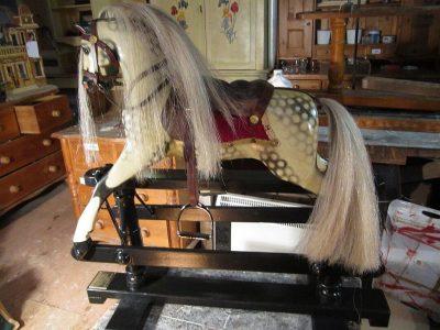 Lines Sportyboy Horse Afrer Restoration by Yorkshire Rocking Horses