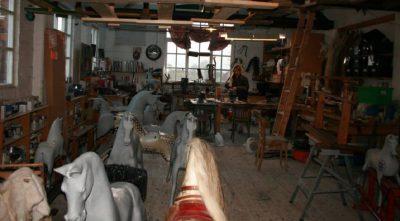 Yorkshire Rocking Horses Old Workshop